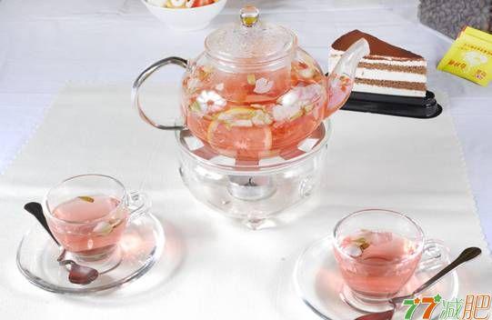 喝减肥茶保持美丽不伤身